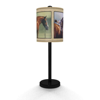 Illumalite Designs Horse Snapshots Table Lamp