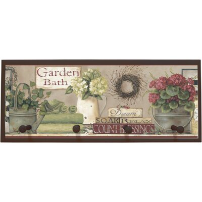 Garden Bath Wall Plaque