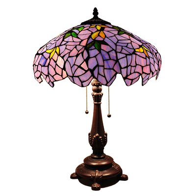 Chloe Lighting Tiffany Style Wisteria Table Lamp