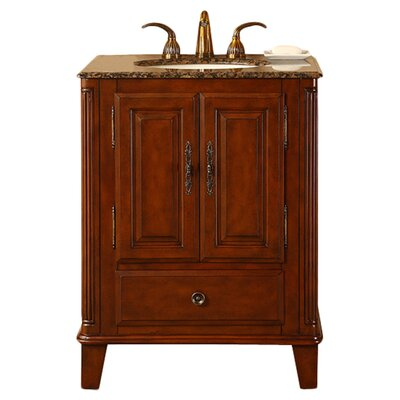 "Silkroad Exclusive Allegheny 28"" Single Bathroom Vanity Set"