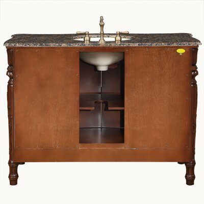 "Silkroad Exclusive Trenton 48"" Single Bathroom Vanity Set"