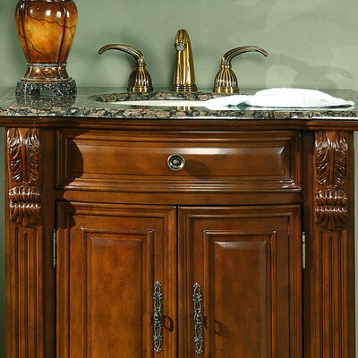 "Silkroad Exclusive Charlotte 33"" Single Bathroom Vanity Set"