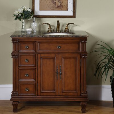 "Silkroad Exclusive Blair 36"" Single Bathroom Vanity Set"