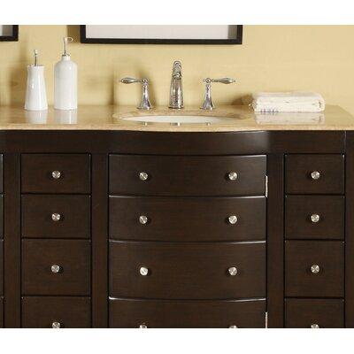 Silkroad Exclusive Lancaster 72 Double Bathroom Vanity Set Reviews Wayfair