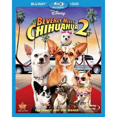 Super D Beverly Hills Chihuahua 2 Blu-Ray and DVD