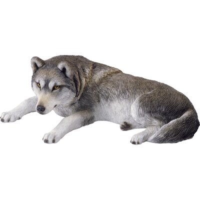 Companion Size Wolf Sculpture