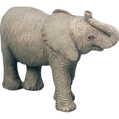 Sandicast Small Size African Elephant Calf Sculpture