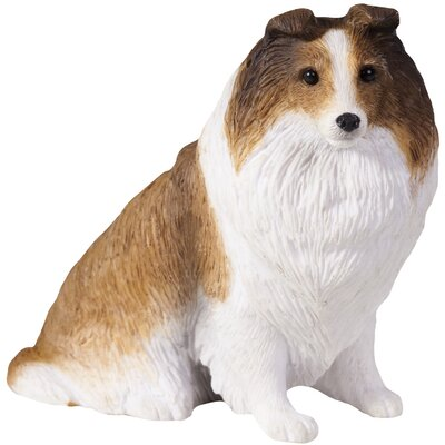 Sandicast Small Size Sculptures Sable Shetland Sheepdog Figurine