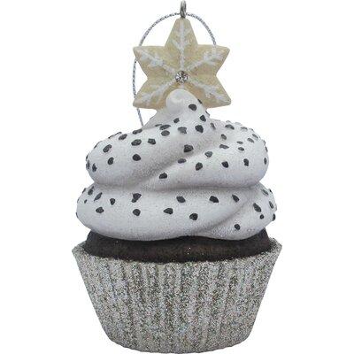 Sandicast Snowflake Top Cupcake Christmas Tree Ornament