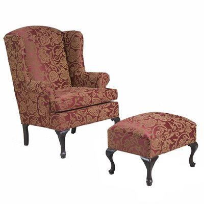 Wing Back Chair And Ottoman Wayfair