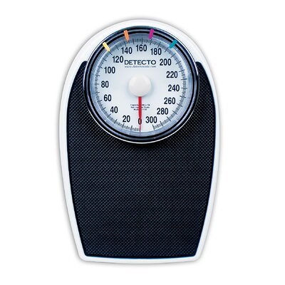 Detecto Large Easy to Read Dial Personal Scale