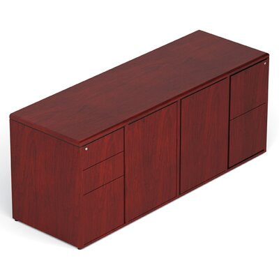 Offices To Go Margate Storage Credenza with Locking Pedestals