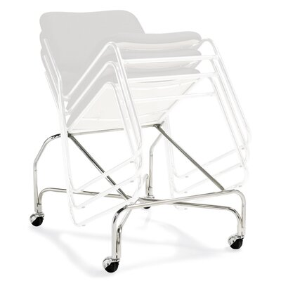 Offices To Go Stack and Guest Dolly for Armless Stack Chair