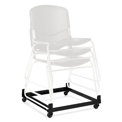 Offices To Go Stack and Guest Dolly for Stackable Chair and Armless Stack Chair