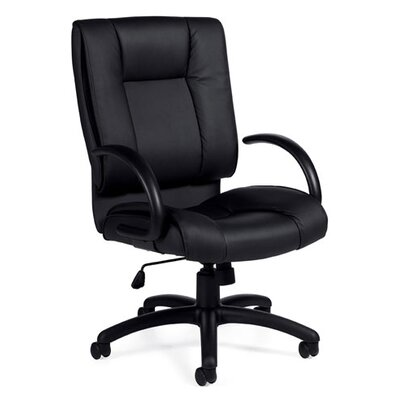 Offices To Go Luxhide High-Back Leather Office Chair