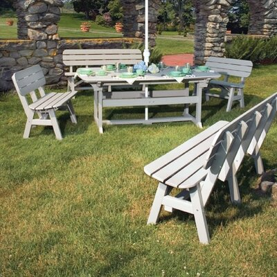 Seaside Casual Portsmouth 5 Piece Dining Set