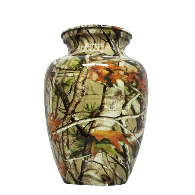UrnsDirect2U Extra Large Camo Aluminum Adult Urn