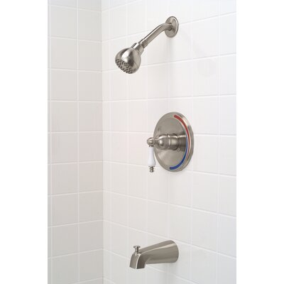 Premier Faucet Wellington Single Handle Volume Control Tub and Shower Faucet