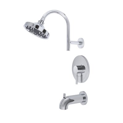 Premier Faucet Essen Single Handle Volume Control Tub and Shower Faucet