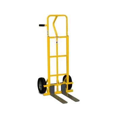 Granite Industries American Cart and Equipment Fork Hand Truck with Standard Wheels