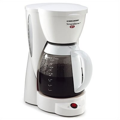Black & Decker SmartBrew 12-Cup Coffeemaker in White