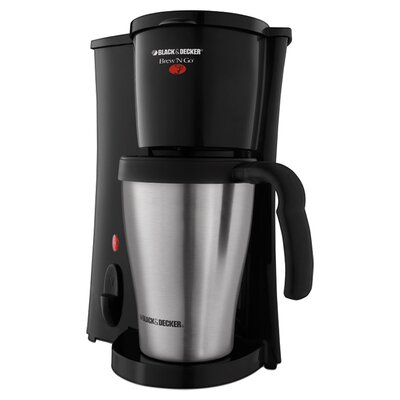 Brew 'N Go Deluxe Coffee Maker with Plastic Mug