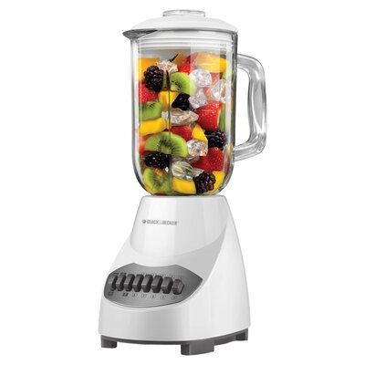 Black & Decker 10 Speed Blender Glass Jar