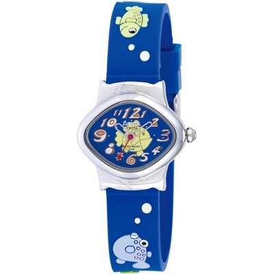 Juniors Fish Design Watch in Yellow