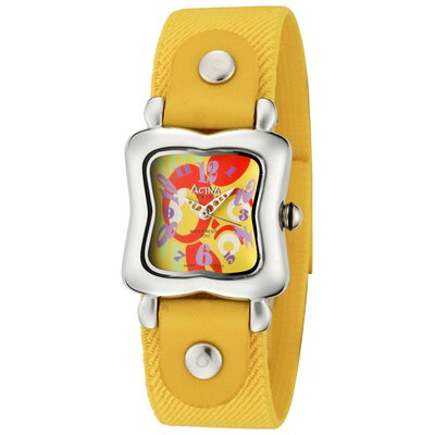 Juniors Crab Design Watch in Yellow