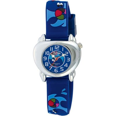 Juniors Dolphin Design Watch in Dark Blue
