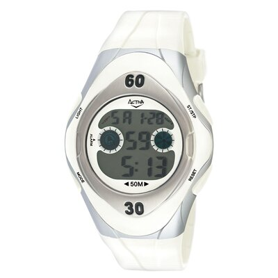 Men's Digital Watch in White