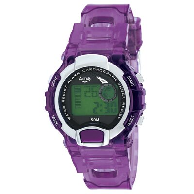 Activa Watches Women's Digital Watch in Purple
