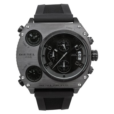 Diesel Men's XXL Triple Time Watch