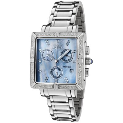 Women's Angel Chronograph Diamond Stainless Steel Watch