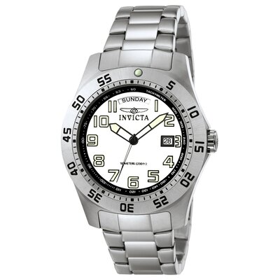 Men's Pro Diver Stainless Steel Watch