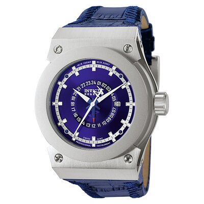 Men's Akula GMT Watch in Blue