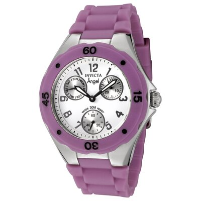 Women's Angel Silicone Round Watch