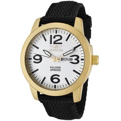 Men's Specialty Nylon Round Watch