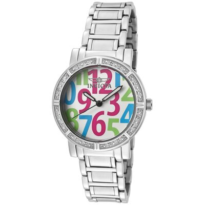 Invicta Women's Wildflower Diamond Dial Round Watch