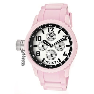 Women's Russian Diver Polyurethane Round Watch