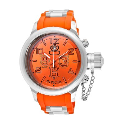 Men's Russian Diver Chronograph Polyurethane Round Watch