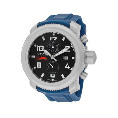 Invicta Men's Russian Diver/Sea Hunter Polyurethane Round Watch