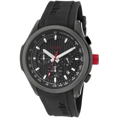 Men's Starter Chronograph Silicone Round Watch
