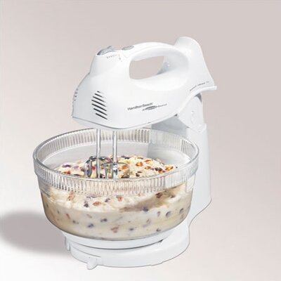 Power Deluxe Hand / Stand Mixer in White