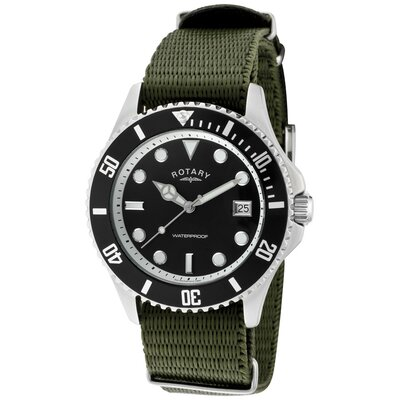 Men's Classic Military Round Watch
