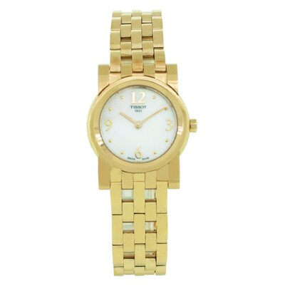 Tissot Classi-T Tissot Women's Watch with Mother of Pearl Dial
