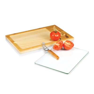 Icon Cutting Board with Knife
