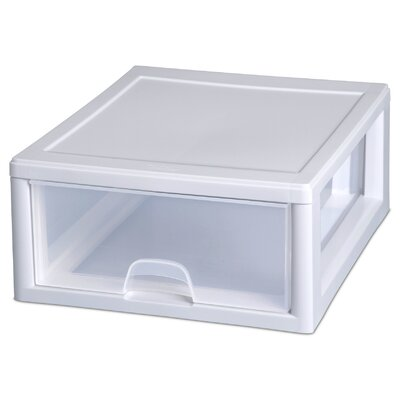 Sterilite 16 Quart Clear Stacking Drawer 23018006
