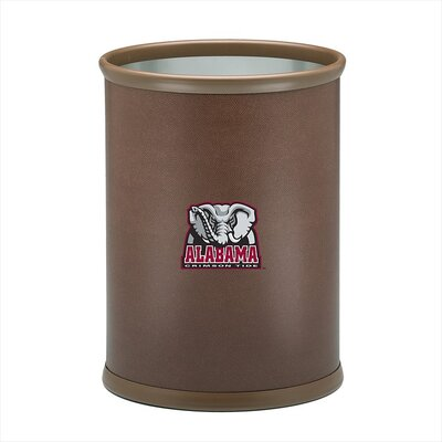 Collegiate Alabama Football Theme Waste Basket