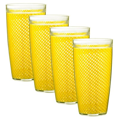 Kraftware Fishnet 24 Oz. Double Wall Insulated Tumbler